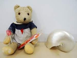 Teddy mit zuckerfreiem Lutscher
