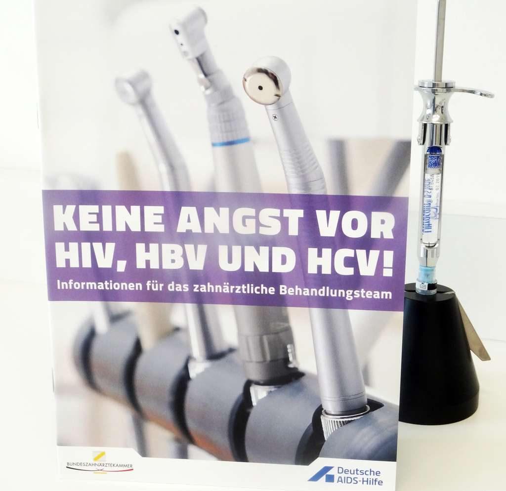 """Broschüre """"Keine Angst vor HIV, HBV und HCV"""""""