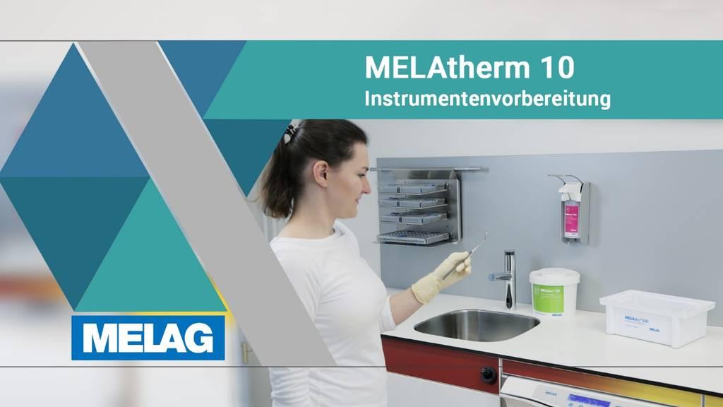 Melag Melatherm Instrumentenvorbereitung