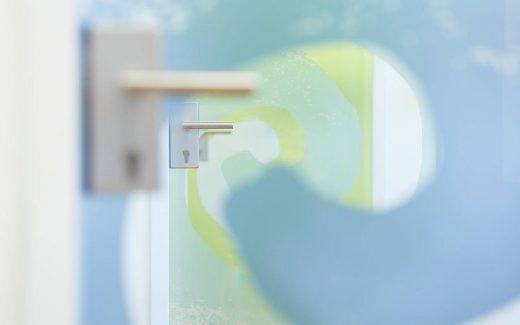 Zahnarzt Bochum Beispiel Tür